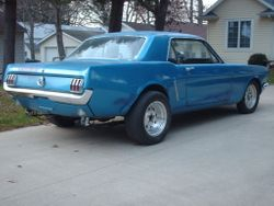 40.65 MUSTANG COUPE