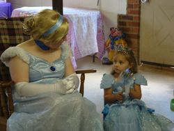 Princess CInder Visit