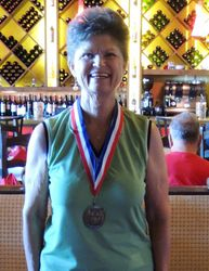 Overall Low Net: Barb Ford