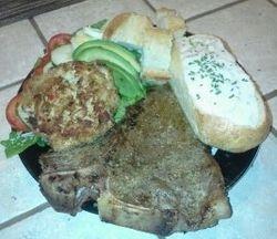 Steak w/Salad, Texas Toast &