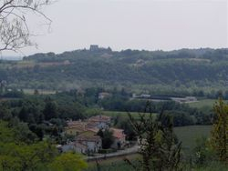 Mansion-view of local village and Mount Montello