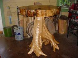 White Pine/White Cedar Pub table