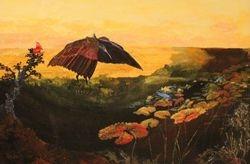 AFRICAN HERON MANTLES