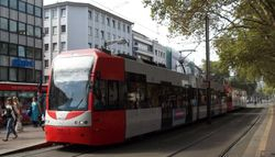 K4500 trams at Neumarkt