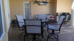 Patio in Naples FL After