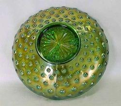 "Hobnail, reverse of Vintage 10"" IC shape bowl"