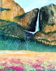 Yosemite Fall In California