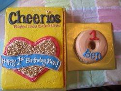 Cheerios 1st Birthday