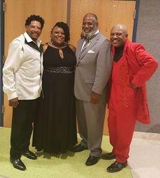 Mousey Thompson, Greg Cooper and Karen Linette