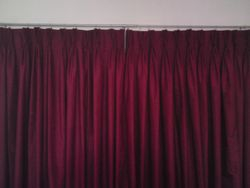 French Pleat Lined Curtains