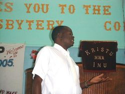 Rev Chirongo 2005/06 Synod Actuary