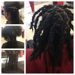Dreads started with Extensions