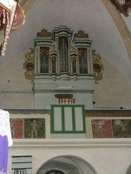 Orgelgallerij met orgel 2006