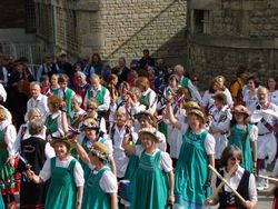 Mass dance at the Castle