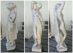 Antikvarine antikines moters statula. Kaina 137