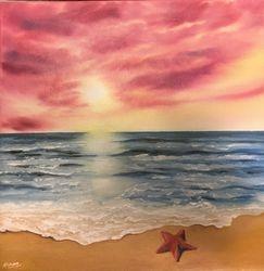 Starfish on the Beach!