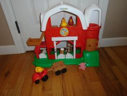 Fisher Price Little People Fun Sounds Farm with Animals & Tractor - $22