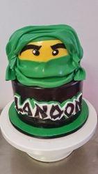 Building Block Ninja Cake