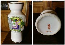 Latviska porcelianine vaza. Kaina 28