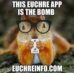 This Euchre app is the bomb.