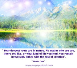 Your deepest roots are in nature