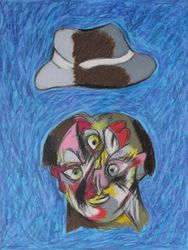Homme au chapeau II