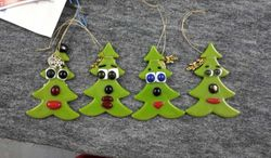 Christmas Tree Comic Decorations