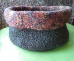 large felted basket/bowl