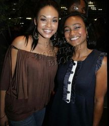Demetria Mckinney & Tatyana Ali At The Black Film Festival