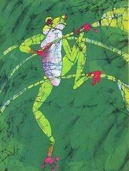 Frog on Stem