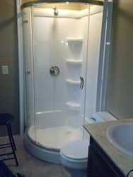 Install Shower