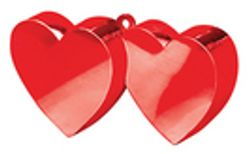 Double Heart Weights £3.49