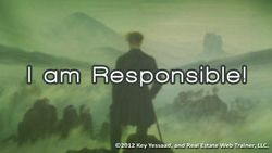 I am Responsible for my Business
