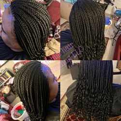Individual Braids completed in Arlington, VA
