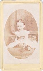 CDV by A. Peck, Newburgh, NY - Little Girl