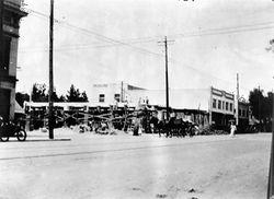 HOLLYWOOD AND CAHUENGA, 1910