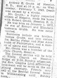 Grubb, Andrew 1945