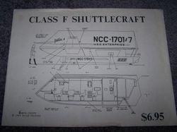 Class F Shuttlecraft - Blueprints - Dave Winfrey