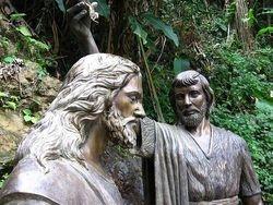 Jesus y San Jan Bautista
