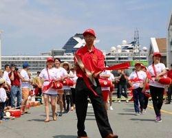 Canada 151 drumming