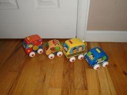 Melissa & Doug K's Kids Pull-Back Soft Vehicle Set - $15