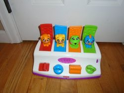 Fisher Price Bobble & Giggle Musical Pop Up Toy - $20