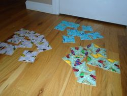 Scramble Squares Birds, Sea Life & Insects 9 Piece Challenging Puzzles - $20
