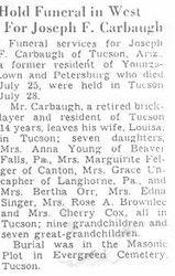 Carbaugh, Joseph