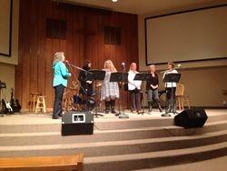 Ladies' Group singing