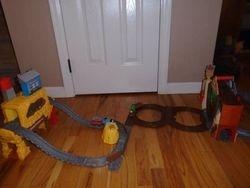 Thomas & Friends Take-N-Play: Rumbling Gold Mine Run and Tree Mine - $40