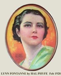 LYNN FONTANNE 1928