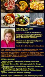 Chef Susan Cooking Classes