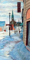 Cunard Street In Winter - SOLD