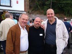Banger Walsh, Mark L'Strange, Bill Bromley ( Masked Emporer)